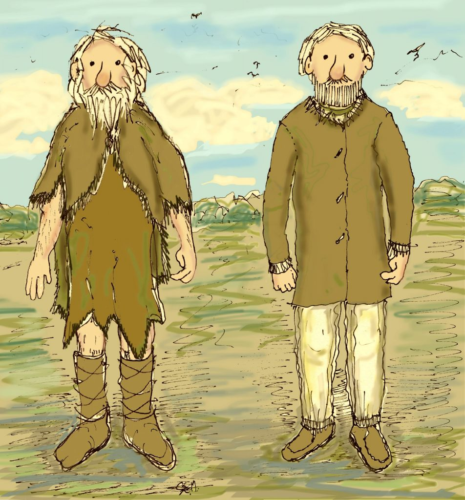 What neolithic people wore by Sarah Ewbank