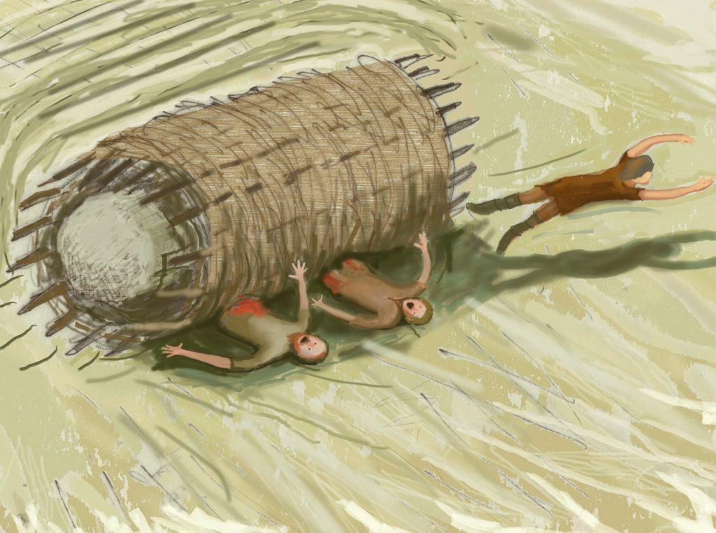 Like a rolling stone by Sarah Ewbank