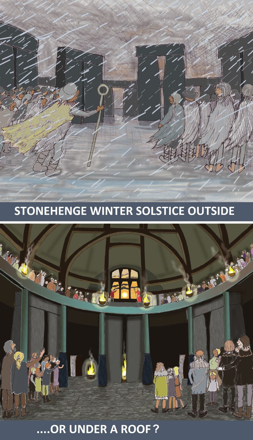 Stonehenge celebrations by Sarah Ewbank